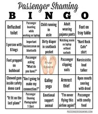 Airplane Bingo